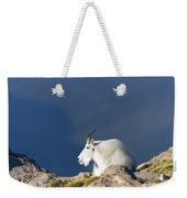 Rocky Mountain Goat Weekender Tote Bag