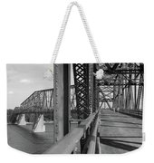 Route 66 - Chain Of Rocks Bridge Weekender Tote Bag