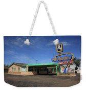 Route 66 - Tucumcari New Mexico Weekender Tote Bag