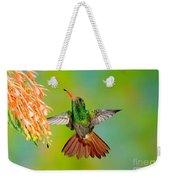 Rufous-tailed Hummingbird Weekender Tote Bag