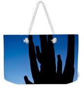 Saguaro Silhouette Weekender Tote Bag