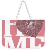 San Antonio Street Map Home Heart - San Antonio Texas Road Map I Weekender Tote Bag