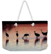 Sandhill Cranes Weekender Tote Bag