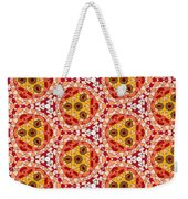 Seamlessly Tiled Kaleidoscopic Mosaic Pattern Weekender Tote Bag