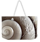 Seashell Detail Weekender Tote Bag by Elena Elisseeva