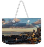 Seattle Dusk Weekender Tote Bag