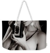 Sexy Photographer Weekender Tote Bag