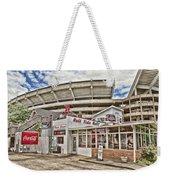 Shadow Of The Stadium Weekender Tote Bag by Scott Pellegrin