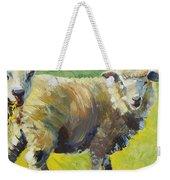Sheep Painting Weekender Tote Bag