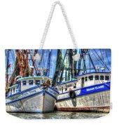 Shrimp Boats Season Weekender Tote Bag
