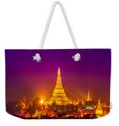 Shwedagon Paya - Yangoon Weekender Tote Bag