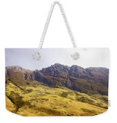 Slope Of Hills In The Scottish Highlands Weekender Tote Bag