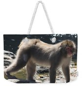 Snow Monkey Weekender Tote Bag