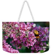 Snowberry Clearwing Hummingbird Moth Weekender Tote Bag