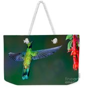 Sparkling Violetear Weekender Tote Bag