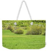 Spring Farm Landscape In Maine Weekender Tote Bag by Keith Webber Jr