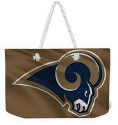 St Louis Rams Uniform Weekender Tote Bag