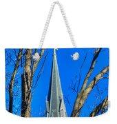 St. Marys Church Steeple Of St Marys Church Weekender Tote Bag