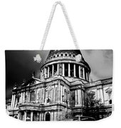 St Pauls Cathedral London Art Weekender Tote Bag by David Pyatt