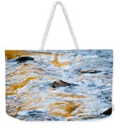 Stream Great Smoky Mountains Painted Weekender Tote Bag