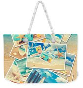 Summer Postcards Weekender Tote Bag by Amanda Elwell