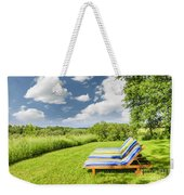 Summer Relaxing Weekender Tote Bag by Elena Elisseeva