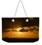 Sunset In The Caribbean Weekender Tote Bag