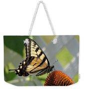 Swallowtail On Coneflower Weekender Tote Bag