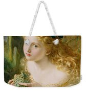 Take The Fair Face Of Woman Weekender Tote Bag
