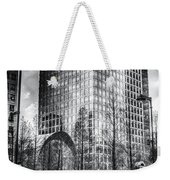 Taxi At Canary Wharf Weekender Tote Bag