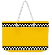 Taxi Background Weekender Tote Bag