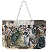 Temperance Movement, 1848 Weekender Tote Bag