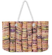 Textile Background Weekender Tote Bag