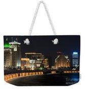The Bund, Shanghai Weekender Tote Bag