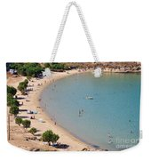 The Famous Psili Ammos Beach Weekender Tote Bag
