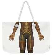 The Nerves Of The Body Weekender Tote Bag
