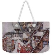 'the Night Before Christmas Weekender Tote Bag