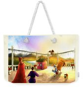 The Palace Balcony Weekender Tote Bag