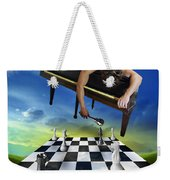 The Piano Weekender Tote Bag