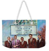 The Rat Pack Weekender Tote Bag