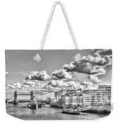 The River Thames Weekender Tote Bag