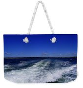 The Wake Of The Island Queen Weekender Tote Bag