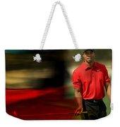 Tiger Woods Weekender Tote Bag by Marvin Blaine