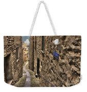 Tight Alley Weekender Tote Bag