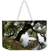 Tree  Reflection Weekender Tote Bag