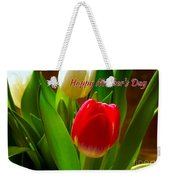3 Tulips For Mother's Day Weekender Tote Bag