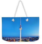 Tv Tower Or Fersehturm In Berlin Weekender Tote Bag
