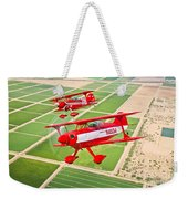 Two Pitts Special S-2a Aerobatic Weekender Tote Bag