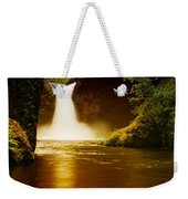 Upper Punch Bowl Falls Weekender Tote Bag