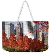 Usa, Illinois, Chicago, Millennium Weekender Tote Bag